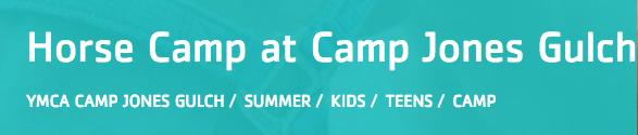 YMCA Camp Jones Gulch Horse Camp