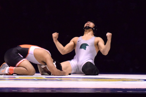 De La Salle's Senior Wrestler Captures First Gold at CIF State Wrestling Championship