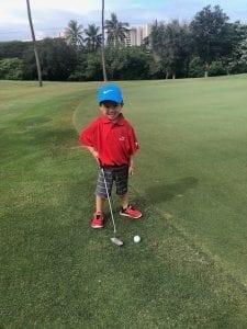 Play Free Golf in Ka'anapali, Maui, Hawaii