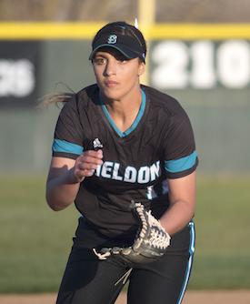 All-NorCal Softball selection Shea Moreno of Sheldon-Sacramento