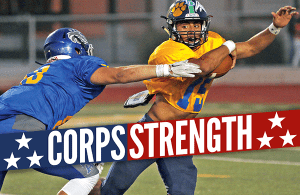 Turlock football, Gabriel Cordero, Corps Strength, Turlock High School Football, turlock bulldog football