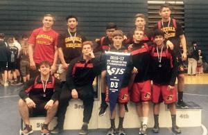 Oakdale High School Wrestlers