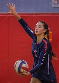 Light sisters, Pleasant Grove Volleyball, Jade Light