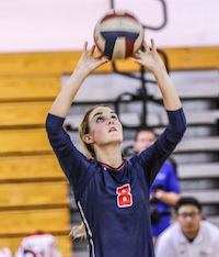 Light sisters, Pleasant Grove Volleyball, Riley Tishlarich
