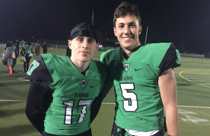 St. Mary's Football, Noah May, Joe Fontes