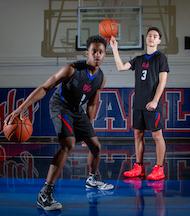 Clayton Valley Basketball, Romen Merritt, Zach Martinez