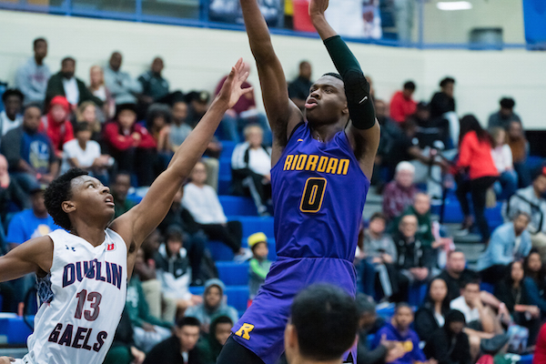 The Archbishop Riordan Jr., Jelani Clark returns to the Crusaders after a breakout sophomore season. Clark is one of the big reasons that Riordan began the 2018-19 season ranked No. 6 in SportStars' Preseason NorCal Top 20.