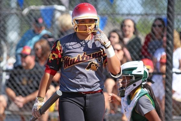Lexi Webb, Oakdale Softball