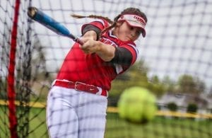 Woodland Christian softball, Jordyn Hutchins
