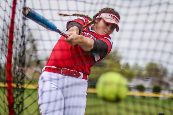 Woodland Christian softball, Jordyn Hutchins