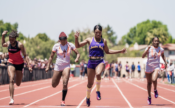 Chinyere Okoro, Amador Valley, Track