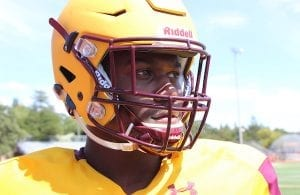 Las Lomas football, Isaiah Newell