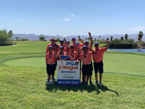 San Ramon All-Stars win the PGA Jr. League Regional at Boulder Creek