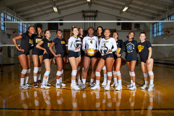 Bishop O'Dowd volleyball