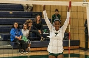 Sacred Heart Cathedral, Volleyball, Skylar Canady