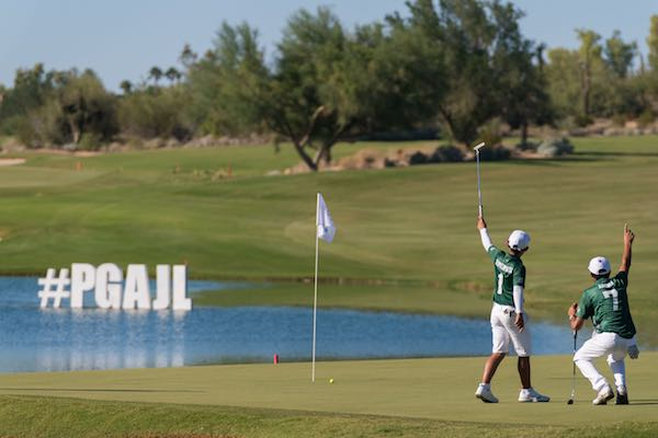 Team Georgia Comes Back from Stunning Divisional Loss to Capture 8th PGA Jr. League Golf Championship. Team Texas finishes runner-up; Team San Ramon California is third; and Minnesota fourth.
