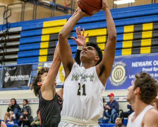 Mitty Boys Basketball, Arrish Bhandal
