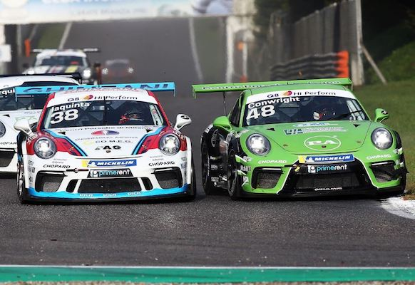 Jaden Congright's season in Italy and with Porsche was very successful (first time racing GT, second youngest driver, multiple podium finishes, highest scoring rookie and only American in the championship).